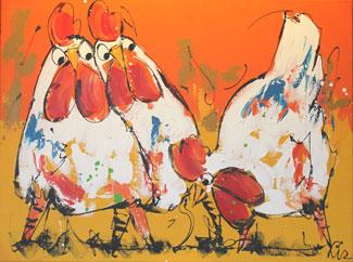 Moderne schilderijen kopen LIZ