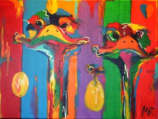 Moderne schilderijen kopen mIR