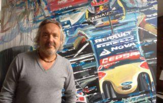 Kunstenaar Eric Jan Kremer