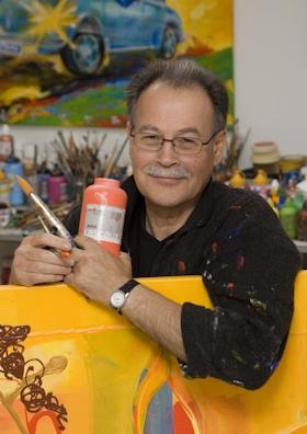 Ad Verstijnen kunstenaar tulip art