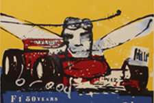 Herman Brood zeefdruk