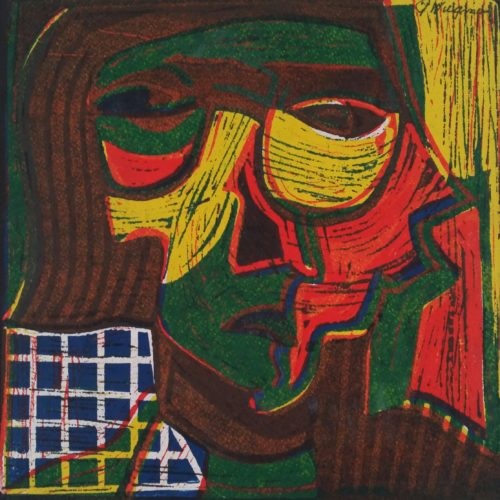 van kunstenaar Piet Wiegman.