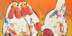 Categorie Dieren schilderijen menuknop Tulip Art