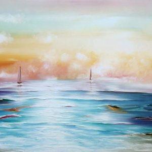 Gena 3D Sailing water