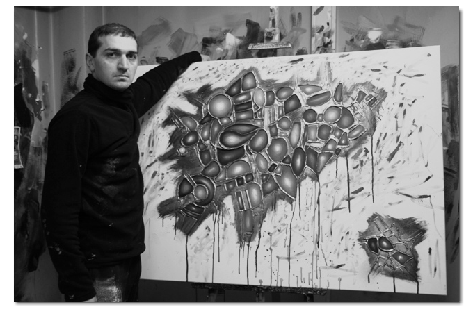schilder gena kunstenaar