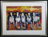 Frits van Eeden dutch girls koeien