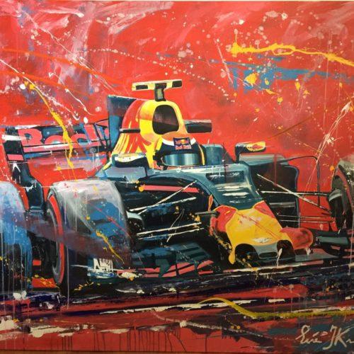 Max Verstappen Schilderij groot