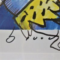 Tarzan and the lion king handtekening Herman Brood