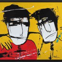 friends Martijn vincent smit schilderij