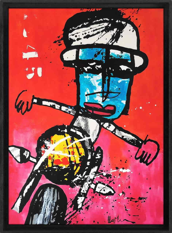 easy rider Martijn vincent smit schilderij