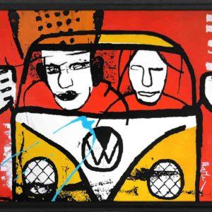 happy campers Martijn vincent smit schilderij