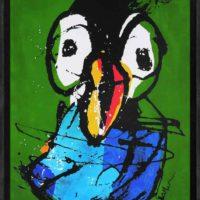 i am bird Martijn vincent smit schilderij