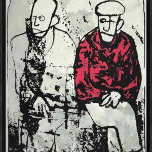 old friends Martijn vincent smit schilderij