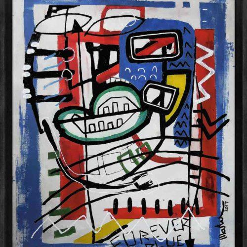 forever blue Martijn vincent smit schilderij