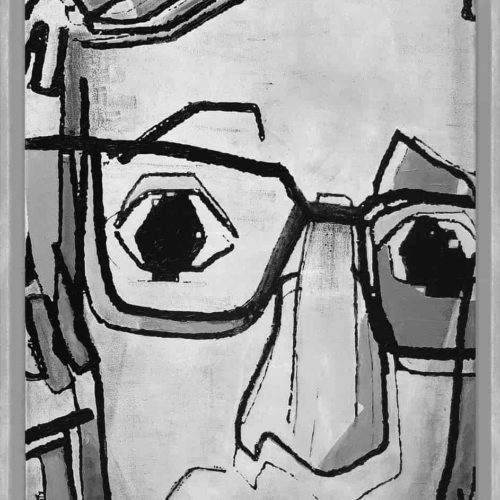 this is not woody allen Martijn vincent smit schilderij