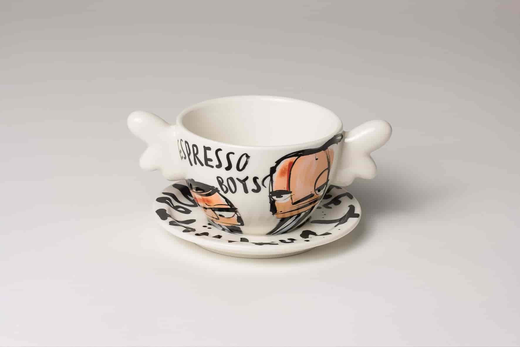 Espresso Boys Heavenly Coffee Cup