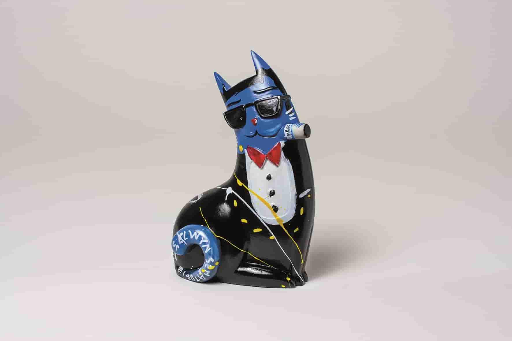 ST00605 - 1.Big City Cat Blue, Frank-min Selwyn senatori