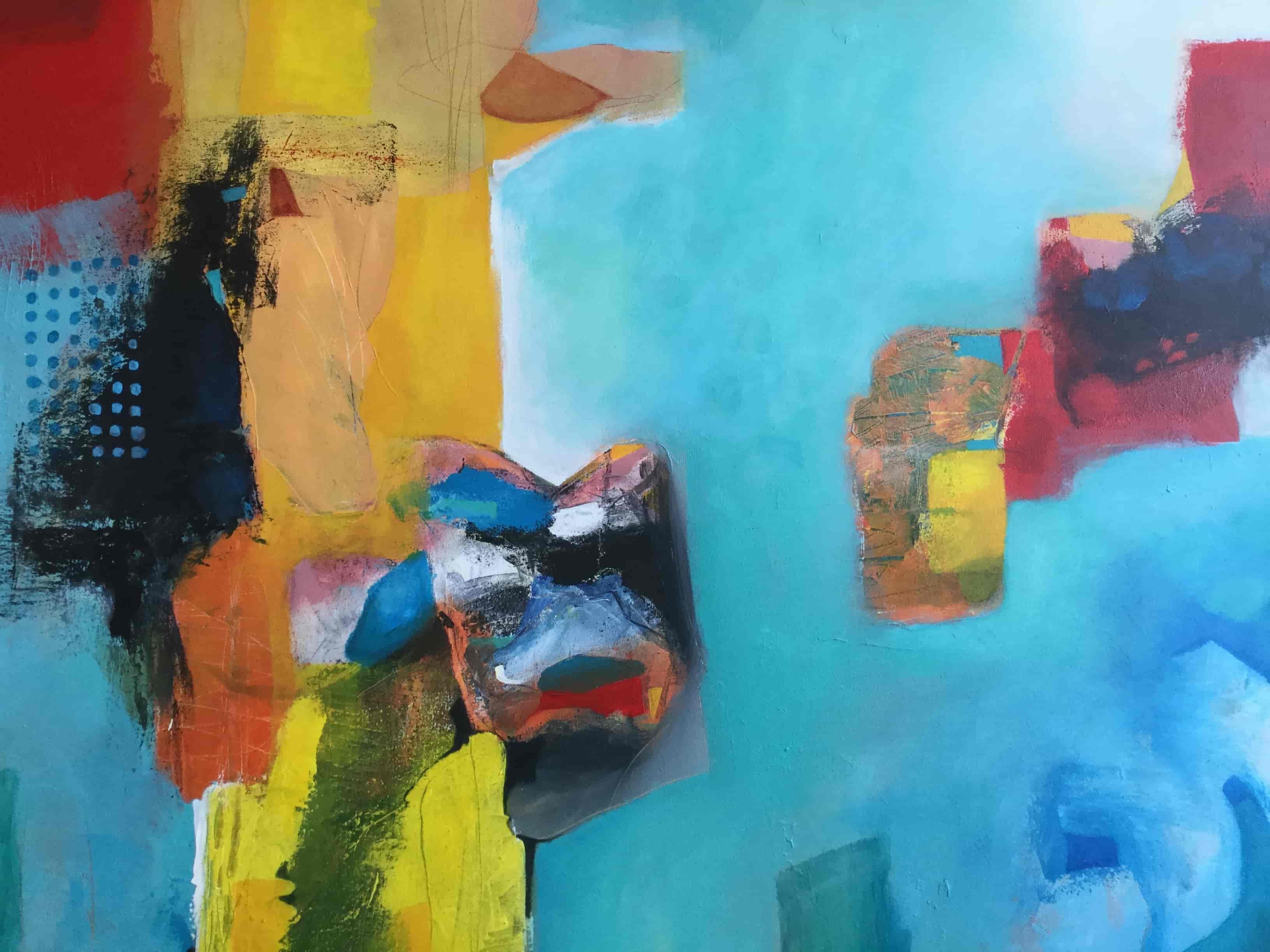Hans Heijman dream away schilderij