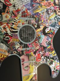 Michel daniels pop art gitar