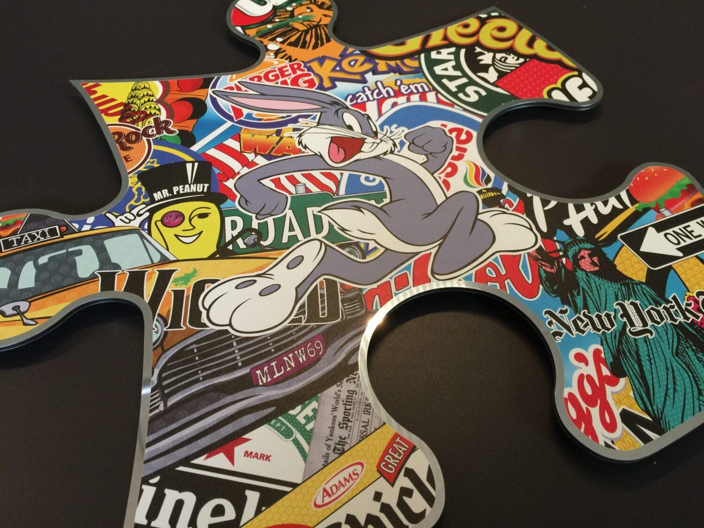michael daniels popart puzzelstuk