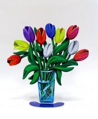 Tulips vase small