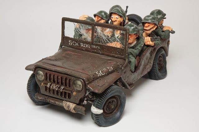 Forchino - Kunst Cadeau- Jeep