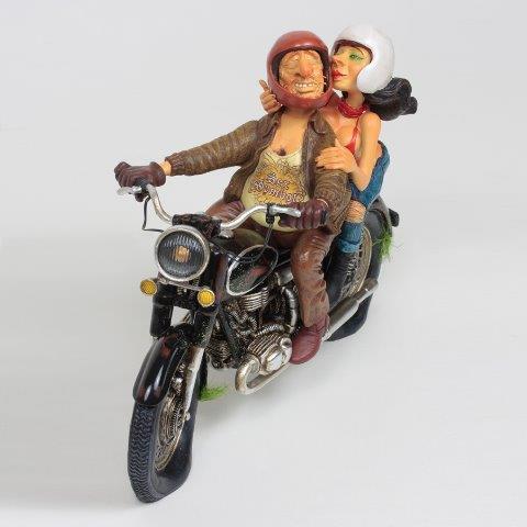 Forchino - Kunst Cadeau- Motorrit