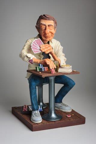 Forchino - Kunst Cadeau- De pokerface (groot)