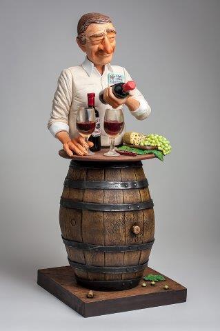 Forchino - Kunst Cadeau- De wijn liefhebber (groot)