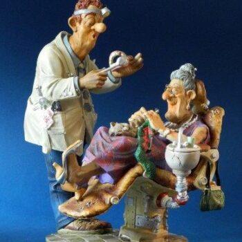 Profisti - Kunst Cadeau- Tandarts klein