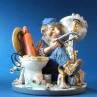 Profisti - Kunst Cadeau- loodgieter
