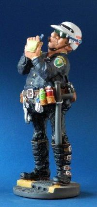 Profisti - Kunst Cadeau- Politie klein
