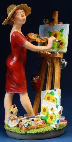 Profisti - Kunst Cadeau- kunstschilderes