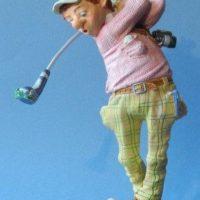 Profisti - Kunst Cadeau- Golfer  klein