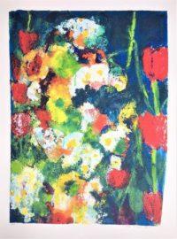 Frans Lauter - Zeefdruk - Bloemen 4