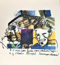 Herman Brood - Litho - Bruce Springsteen