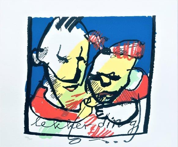 Herman Brood - Zeefdruk - Lekker ding