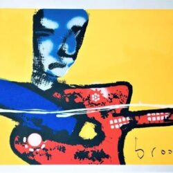 Herman Brood - Zeefdruk - My little guitar