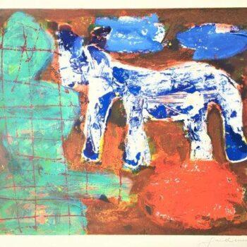 Guillaume - Zeefdruk - Paard