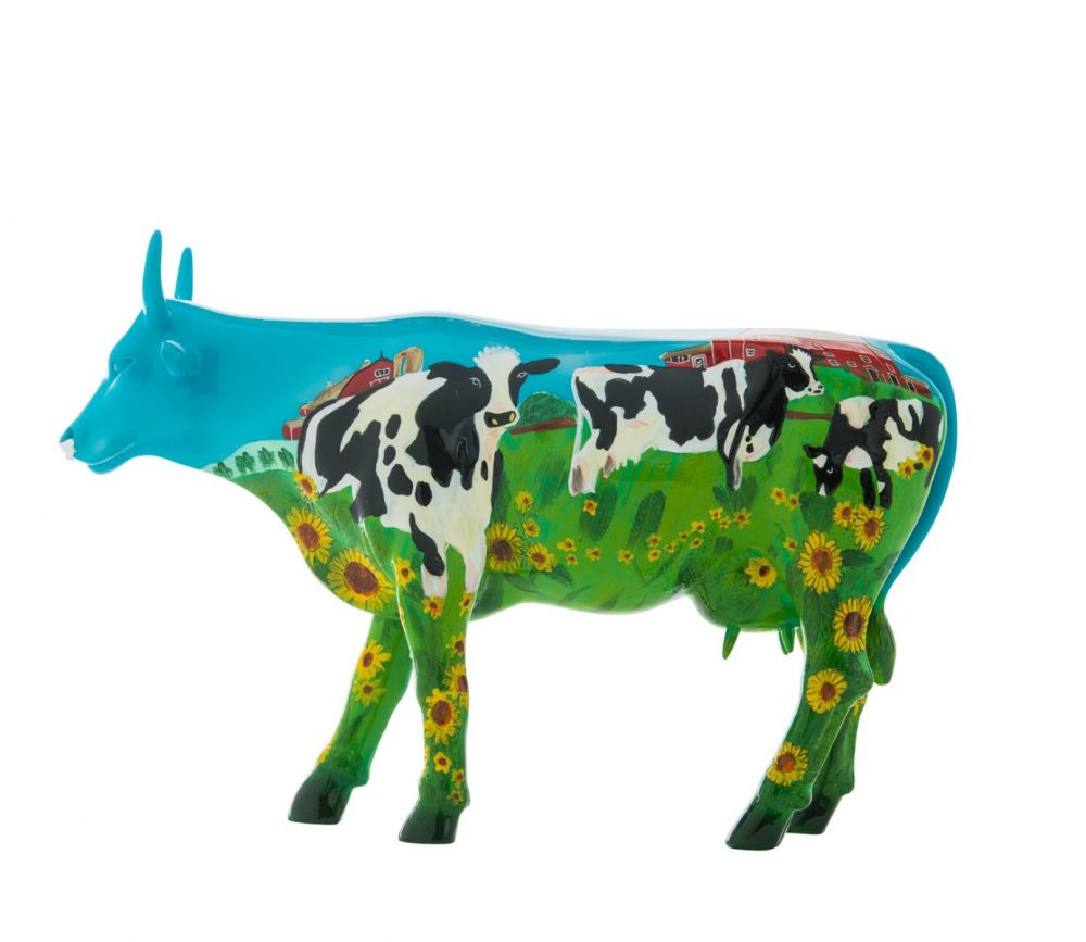 Cow Parade - kunst cadeau - Cow Barn