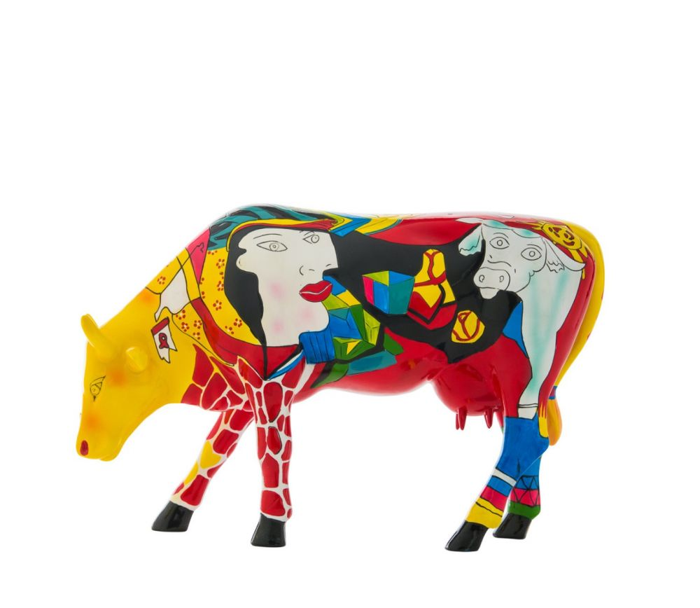 Cow Parade - kunst cadeau - Homage to Picowso