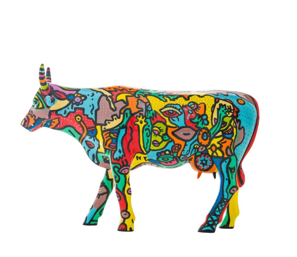 Cow Parade - kunst cadeau - Moo York celebration