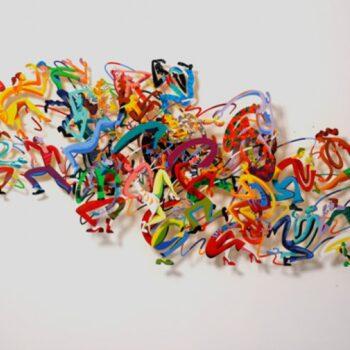 David Gerstein - Wall Sculpture - Disco