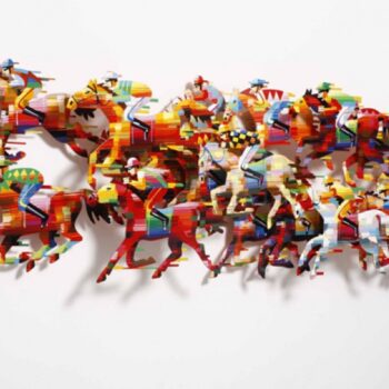 David Gerstein - Wall Sculpture - Hippodrone
