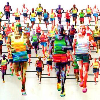 David Gerstein - Wall Sculpture - Marathon Berlin