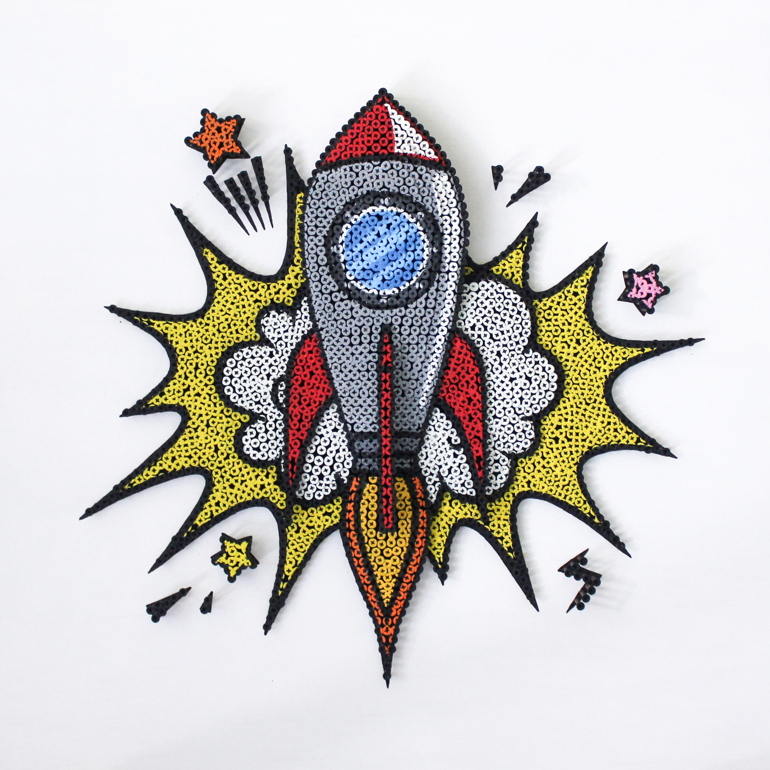 Alessandro Padovan - Screw art - Rocket