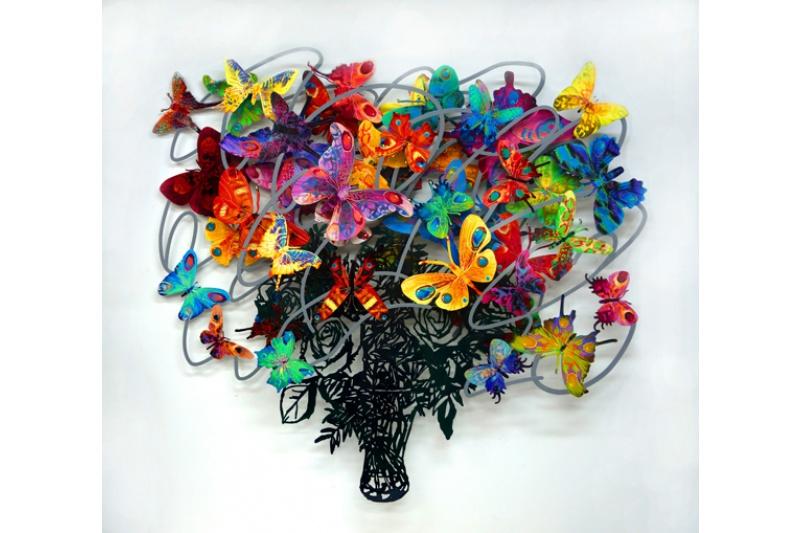 David Gerstein - Wall Sculpture - Synergie