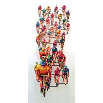 David Gerstein - Wall Sculpture - Tour de France 2 Vertical