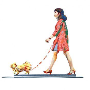 David Gerstein - Kunst Cadeau - Dog Walker - 06