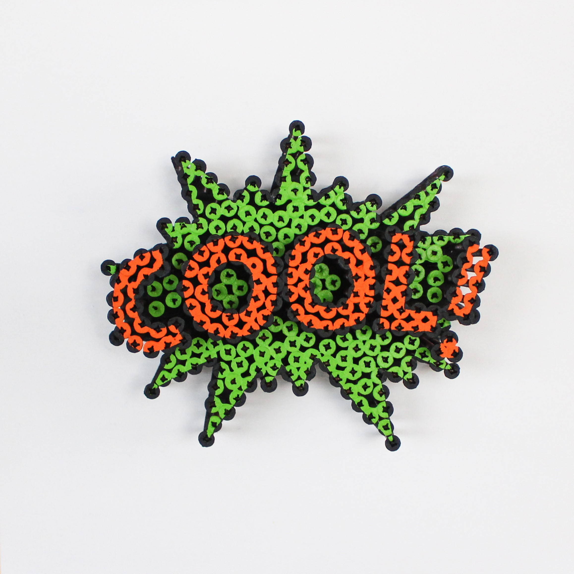 Alessandro Padovan - Screw art - Mini Cool groen